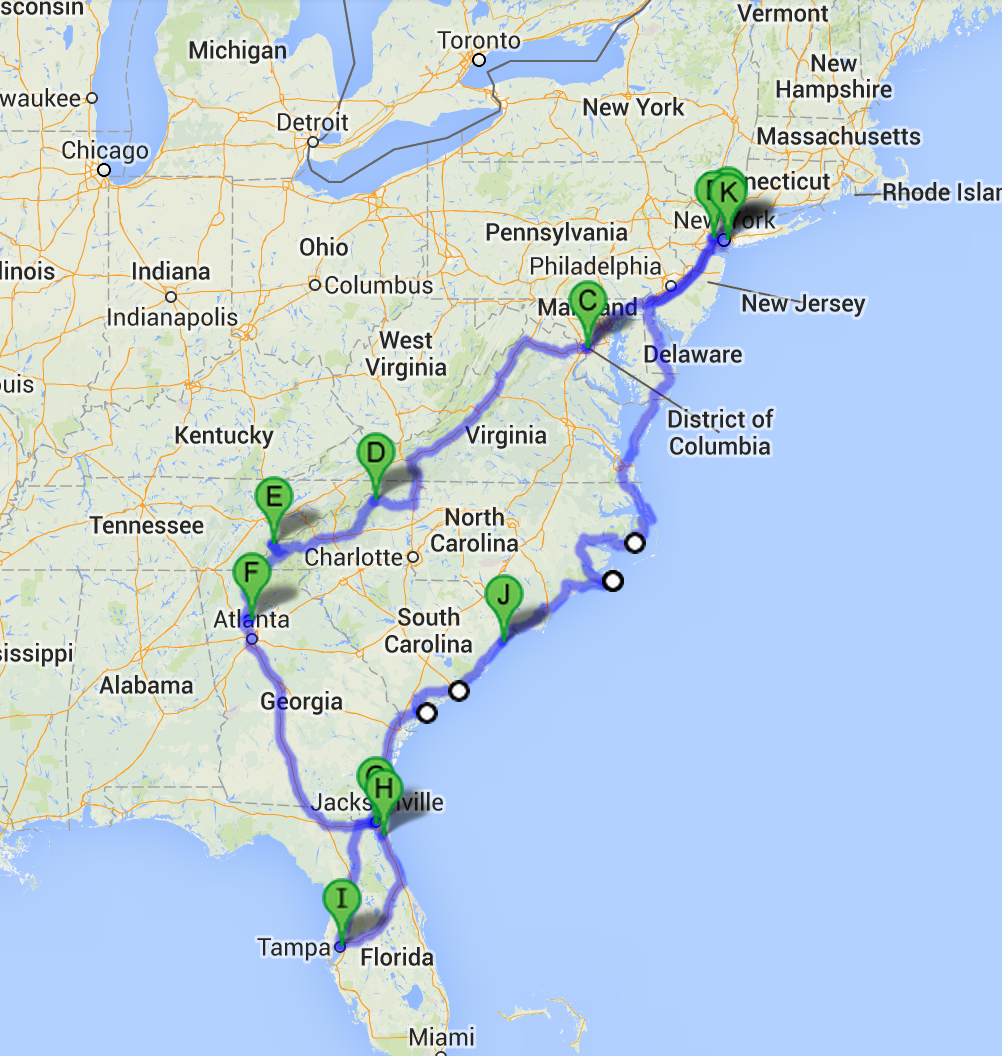 South Eastern Usa Tours
